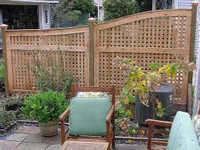 terrasse zaun arched lattice patio fence by elyria fence