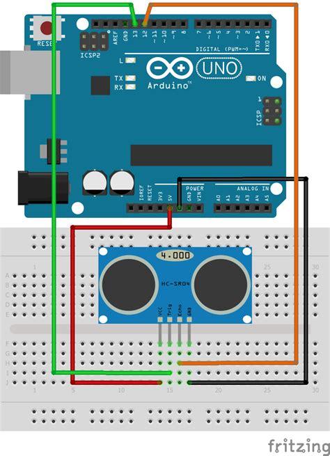 arduino code for ultrasonic sensor ultrasonic sensor in arduino iotguider
