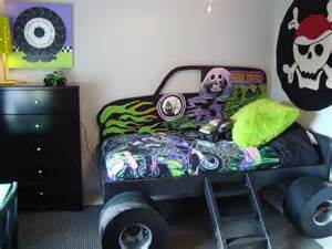 monster truck bedroom monster truck grave digger bed from gabriel s special