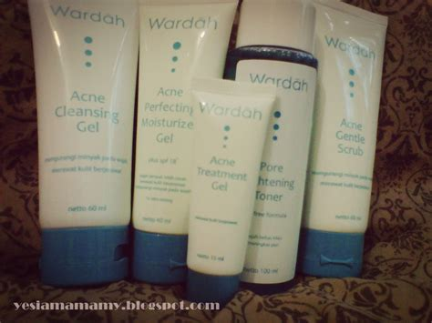 Terlaris Paket Wardah Acne Series yes i am amamy review wardah acne series