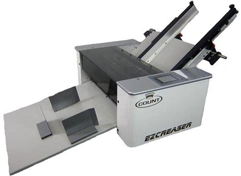 Paper Folding Machine 11x17 - ez creaser touch