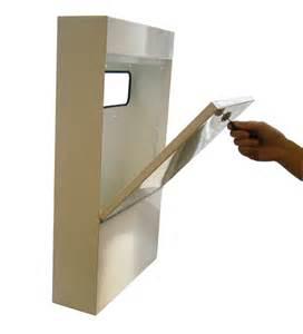 anti vandal letter box