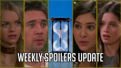 days of our lives cast updates and spoilers why true o days of our lives spoilers weekly update for june 12 16