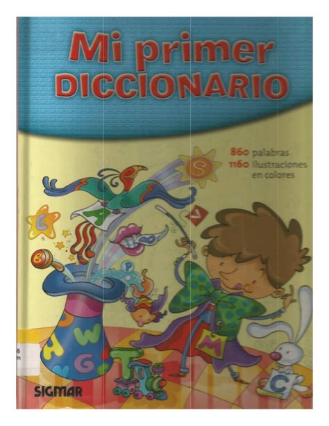 mi primer diccionario de mi primer diccionario