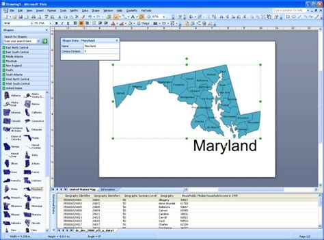 visio link data to shapes visimation mapshapes illustrate data in visio 2007 visiozone