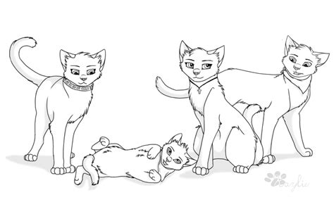 warrior cat coloring pages coloring home