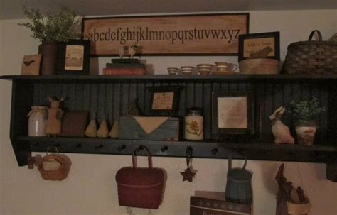 Primitive Shelf Decorating Ideas by 301 Moved Permanently
