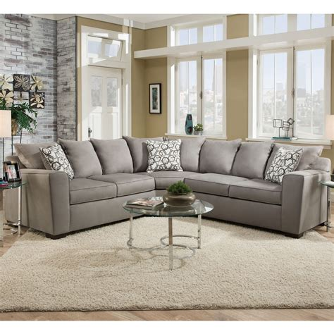 Simmons Sectional Sofas Simmons 8530br Sectional Sofa Simmons Sectional Sofa