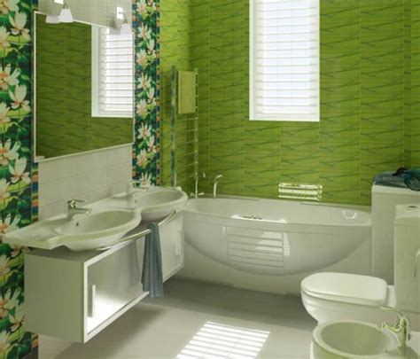 desain kamar mandi minimalis warna hijau gambar desain rumah minimalis warna hijau wallpaper dinding