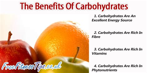 carbohydrates benefits the benefits of carbohydrates free fitness tips