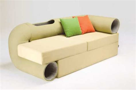 modern sofa design with indoor house keeps pets and