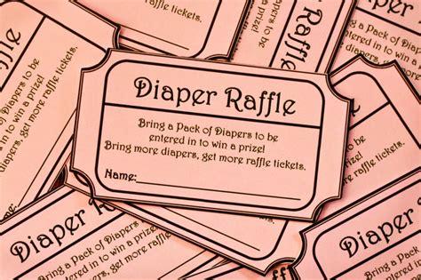 fun printable raffle tickets 8 00 pink printable baby shower diaper raffle ticket