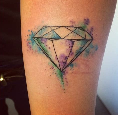 watercolor tattoo diamond 19 tattoos that literally everyone got in 2014