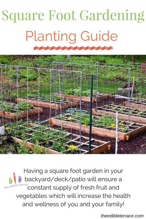 Square Foot Gardening Calculator Soil Garden Ftempo Vegetable Garden Calculator