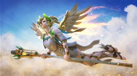 mercy overwatch  wallpapers hd wallpapers id