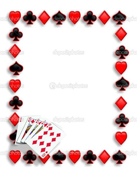 Playing Card Invitation Template Free Clebration Pinterest 40th Birthday Templates Free Free Casino Templates