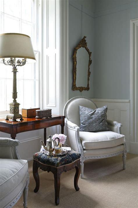 white french antique chair farrow ball  parma grey www