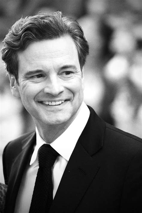 Colin Firth. °We met in 1995 in 'pride & prejudice ... Colin Firth