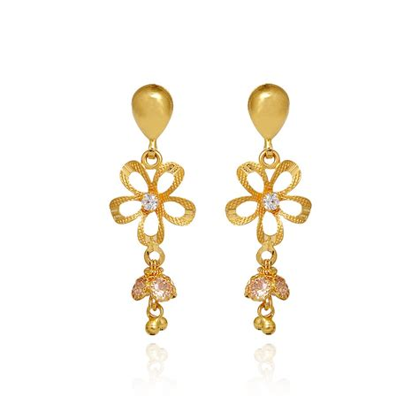 new fashion gold earrings images