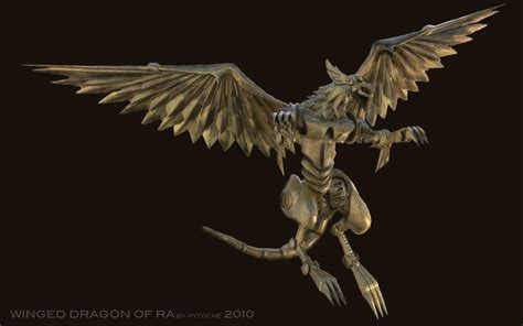 winged dragon of ra ii by pytoche on deviantart