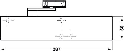 Overhead Door Closer Adjustment Overhead Door Closer Ts 4000 Geze In The H 228 Fele Australia Shop