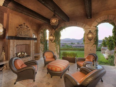 Patio And Fireplace by Photos Hgtv