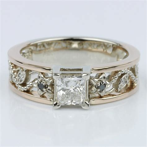 Set Vintage vintage bridal ring sets for your bridal