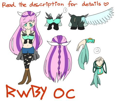 Reading The Oc by Rwby Oc Read The Description For Details By Xdoki Dokix
