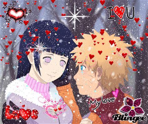 imagenes anime naruto amor imagem de hinata y naruto amor purooo 126910134 blingee com