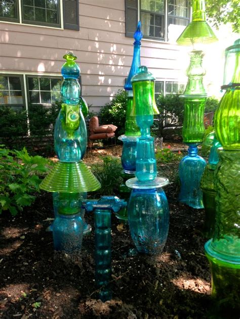 glass for the garden 298 best glass totems flowers images on