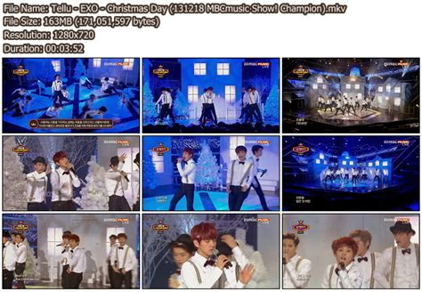 download mp3 exo christmas day download perf exo miracles in december christmas day