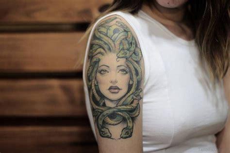 80 elegant medusa tattoos on shoulder