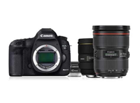 which lenses should you choose for your canon eos 5d mk