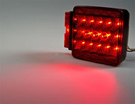 Trailer Lights Kit by Square Led Trailer Light Kit 4 1 2 Led Brake Turn