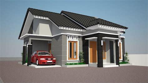 gambar desain atap rumah 1 lantai kumpulan gambar model rumah minimalis 1 lantai rumah