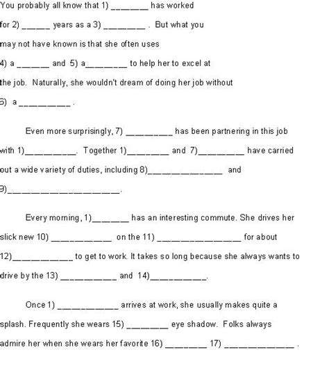 printable road trip mad libs 41 best images about mad libs on pinterest summer