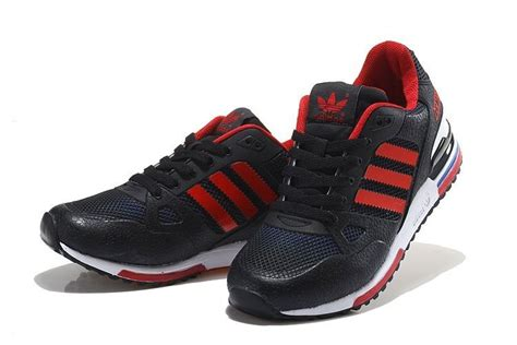 sneaker outlet refinement adidas zx 750 black white royal blue on