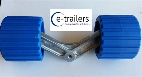 extreme boat trailer parts extreme boat trailer alloy wing bracket blue black wobble