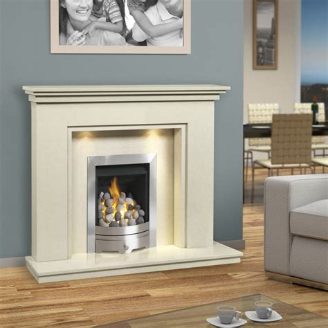 Fireplace Without Surround by Brison Fireplaces Scotton 48 Inch Traditional Marble
