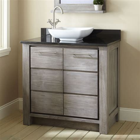bathroom cabinet gray vessel sink bathroom vanity bathroom ideas allibert