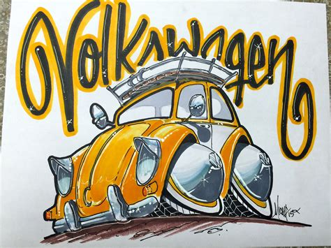 volkswagen bug drawing how to draw a vw bug lapse
