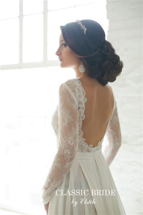 Wedding Hairstyles For Low Back Dresses by 20 Most Beautiful Updo Wedding Hairstyles To Inspire You