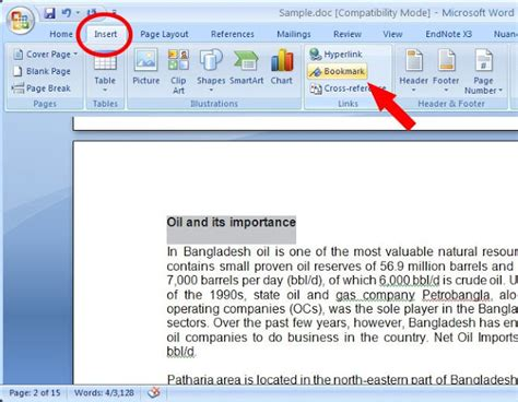how to make printable bookmarks in microsoft word how to make a bookmark in word 2007