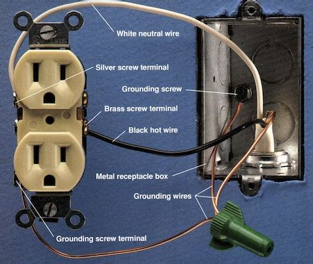 outlet wiring white black 25 wiring diagram images