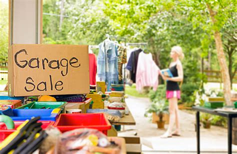 A Garage Sale by Guide To Garage Sales Compare The Market
