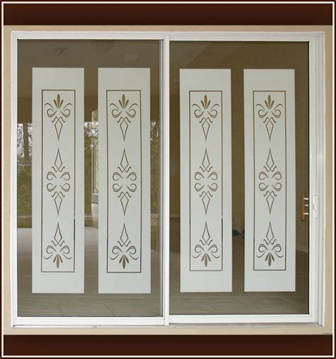 glass door clings glass door clings panda s products etched glass decals