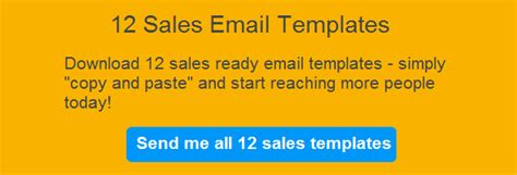 12 Sales Email Templates Proven To Increase Response Rates Free Email Banner Templates