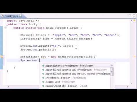 java tutorial by durga sir hashset videolike