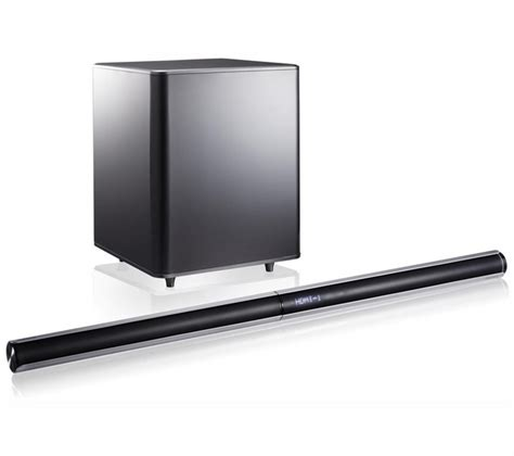 samsung hw e551 xu 2 1 soundbar box damage sealed ebay