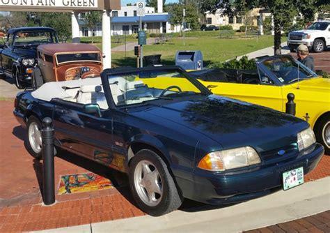 1990 7up edition mustang convertible